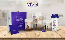 New Vivri Essential Nutrition 10 Day Challenge Meal Replacement Kit -all Flavors