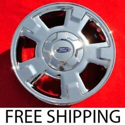 Set Of 4 Chrome 17 Ford F-150 Oem Wheels Rims Expedition Lincoln Navigator 3781