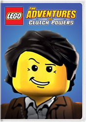 LEGO: THE ADVENTURES OF CLU...-LEGO: THE ADVENTURES OF CLUTCH POWERS  ( DVD NEW