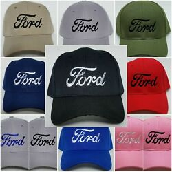 FORD Embroidered Baseball Hat Cap Adjustable Strap FORD $12.95