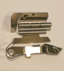 Polished Chrome Extended Parts With Mag Catch For Gen 3 Glock Models 17192634