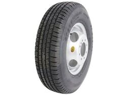 Set Of 4 - 17.5 Trailer Tire And Wheel - 235 75 R17.5 - 18 Ply
