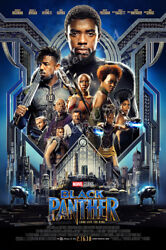 Posters USA Marvel Black Panther Movie Poster Glossy Finish FIL688