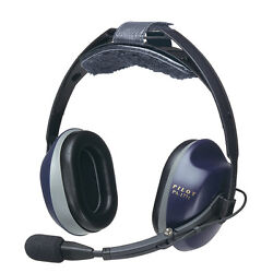Pilotusa Pa-1771th Anr Helicopter Aviation Headset Cell/satellite Phone Capable