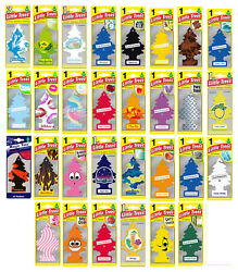 Mix of 410 Little Trees hanging Car Air Freshener assorted pack - Free Shipping