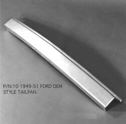 Ford Car Steel Short Tailpan Tail / Roll Pan 1949-1951 10 Ems