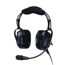 Pilotusa Pa-1761th Anr Helicopter Pilot Headset Cell/satphone/music Capable