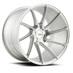 20 Savini Bm15 Silver Concave Directional Wheels Rims Fits Toyota Camry