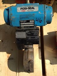 Fisher Posi-seal Type A41 3 Inch Class 150-275 Ss Esa Actuated Valve