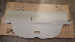 New Oem 2015-2017 Nissan Murano Retractable Cargo Cover - Beige Color Only