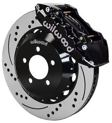 Wilwood Disc Brake Kitfront05-11 Charger30014 Drilled Rotorsblack Calipers