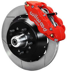 Wilwood Disc Brake Kitfront64-74 Gm14 Rotors6 Piston Red Calipers