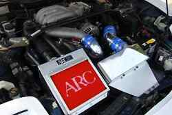 Arc Racing Air Intake Box And Filter Turbo High Performance Kit For Mazda Rx7 Rx-7