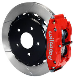 Wilwood Disc Brake Kitrear1997-2013 Corvettec-5c-6z0614 Rotorsred Calip.