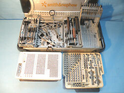 Smith And Nephew Small Fragment System With Instruments, 7117, 7116, 7114 Series