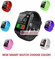 New Bluetooth 3.0 Smart Wrist Watch Phone Mate For Lg Android Phone Ships Fast