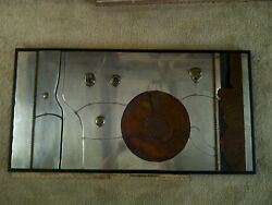 Charles Pebworth, Metal Relief Wall Art, 50 X 24 /when The Right Begins.