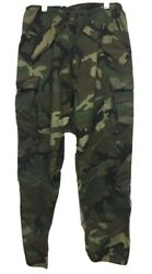 Usmc Army Green Camouflage Cold And Wet Weather Gortex Trousers Small Long Nato