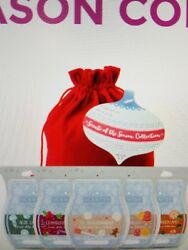 SCENTSY SCENTS OF THE SEASON BUNDLE WITH RED BAG-  SHIPS FREE- SOLD OUT