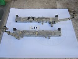 Yamaha 225 Hp Vmax Hpdi 2 Stroke Outboard Fuel Rail Set With Hoses
