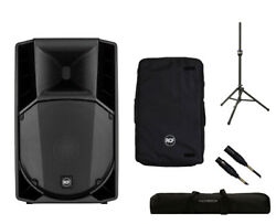 RCF ART 735-A MK4 Active Speaker Monitor + Cover + Stand + Bag + Mogami Cable