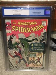 Amazing Spider-Man #2 CGC 6.5 1963 1st Vulture! Key Silver Age! G11 114 cm