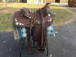 Billy Royal 15 Western Saddle Andmdash Vintage Excellent Condition Reduced