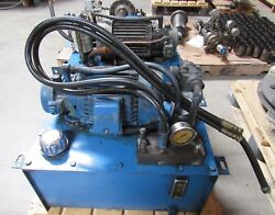 Hydraulic Power Unit Removed From Femco Lathe Wncl-35