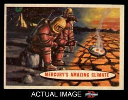 1957 Topps Space Cards #77 Mercury's Amazing Climate  NM