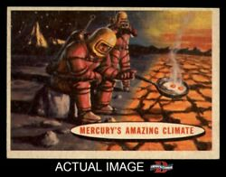 1957 Topps Space #77 Mercury's Amazing Climate  EXMT