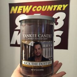 """Yankee Candle - Luke Bryan """"kick The Dust Up"""" - Only 50 Made"""