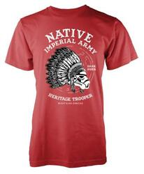 Bnwt Native Imperial Army Indian Storm Trooper Adult T-shirt S-xxl