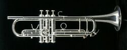 Brand New Adams A10 Selected Model Trumpet In Silver Plate