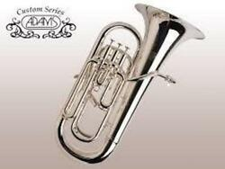Brand New Adams E3 Euphonium selected model in silver plate! Beautiful horn!