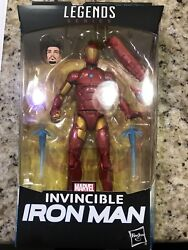 Black Panther Marvel Legends 6-Inch Invincible Iron Man Action Figure In Stock