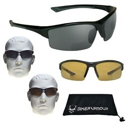 POLARIZED BIFOCAL Sunglass Readers FISHING GOLF Cycle Motorcycle Reading Glasses $31.04