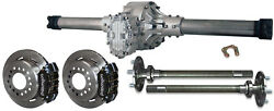 Winters Street Rod Quickchange V8 Rear End W/ Wilwood Disc Brakes And Axles58