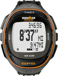 Timex T5k549 Ironman Run Trainer With Gps-technologie