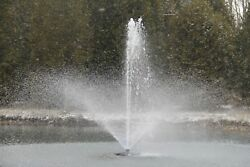 1hp Floating Pond And Lake Aerator With Light Kit Options