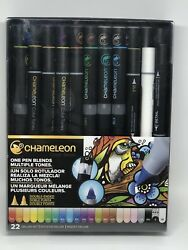 Chameleon Color Tones Pens Deluxe Set of 22 blending markers