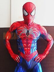 2018 Newest Spiderman Costume Spider Man Cosplay Suit For Adult Kids