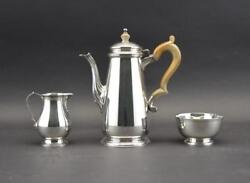Exquisite And Co. Sterling Silver Coffee Service Set