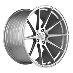 22 Vertini Rf1.3 Silver Forged Concave Wheels Rims Fits Dodge Challenger Rt Se