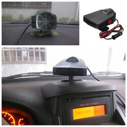 12V Auto Car Portable Ceramic Heater Cooler Dryer Fan Defroster Demister 200W