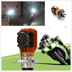 Newest Motorcycle Headlight Bulb H4 LED COB Scooter Accessory Headlamp DRL Light