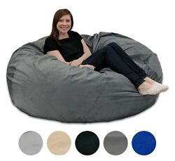 Quality Adult Memory Foam Bean Bag With Washable Removable Cover Andndash 5 Foot