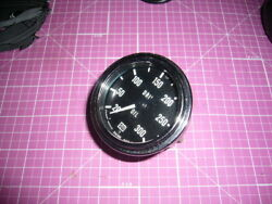Yacht And Boat Drive Oil Gauge Stewart Warner 826380 0-300 W/clips And Inst. Nos