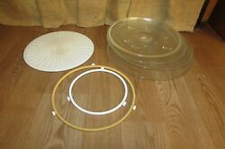 Microwave Replacement Parts-glass Plastic Turntable Plate- Roller Ring 5011