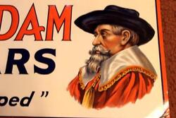 Old Vintage Van Dam Cigars Tobacco Tin Sign Look At My Porcelain Neon Auction
