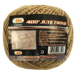 400#x27; all natural premium jute twine string heavy dury Cord Rope Craft Gift DIY
